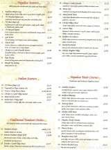 Pricelists of Everest Tandoori Indian Restaurant