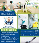 Vac N Steam Cleaning Services | Quality Cleaning Services South Yarra, South Yarra