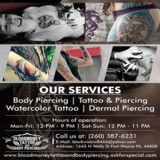 Bloodmoney Tattoo and Body Piercing