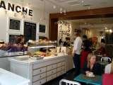 Busy lunch time in Blanche Eatery Victoria, Blanche Eatery, London