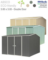 Eco Workshop 5.22m x 2.26m 3-Door