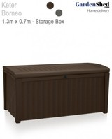 Borneo Storage Box with Seat 1.3m x 0.7m x 0.62m Colour