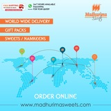 We deliver sweets and namkeen in India, USA, UK and many more..