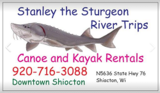 Profile Photos of Stanley the Sturgeon River Trips