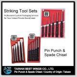Taiwan OEM/ODM Service Pin Punchand Spade Chisel Sets