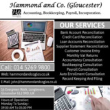 Monthly Supplier Statement Reconciliation Gloucester | Hammond & Co