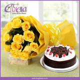 Buy Flowers and Cake Online in Indore