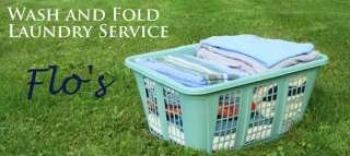 Flo's Wash and Fold Laundry Services