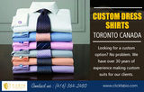 Custom Dress Shirts Toronto Canada
