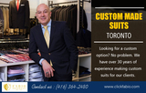 Custom Made Suits Toronto