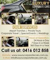 Luxury Corporate Cars | Airport Chauffeur | Melbourne, Kealba