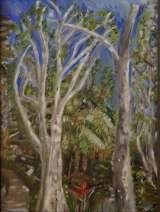 Hamilton Island Stroll, oil on canvas panel, 16