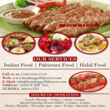 Indian Food Delivery and Take Out Aurora | Bombay Bar & Grill