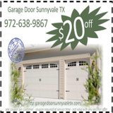 Garage Door Sunnyvale TX