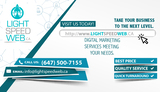 Pricelists of LightSpeedWeb: Best Digital Marketing Company In Mississauga, Milton