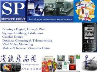 Spencer Print & Talking Product Videos