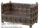 Antique Wooden and iron Industrial Furniture