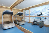 Gym at Chalet Trois Ours
