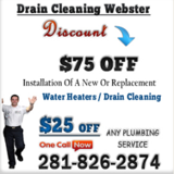 Drain Cleaning Webster TX, Webster