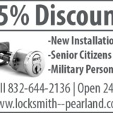 Locksmith Services In Pearland