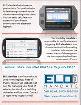Menus & Prices, ELD Mandate | Electronic Logging Devices for Sale in USA, Las Vegas