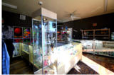 Interior of Chili Heads Glass & Vape