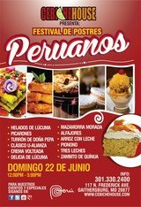 Event Flyers of Cebiche House