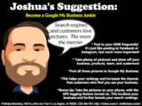 Joshua's digital marketing suggestion