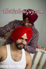 Formal or Mourni Style Turban of The Turban Guy