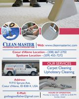 New Album of Clean-Master | Carpet Cleaning Services in Coeur d'Alene