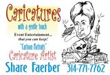 Profile Photos of Caricature Artist Share Faerber