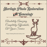 Heritage Photo Restoration and Genealogy, Bellaire