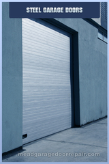 Mead Steel Garage Door