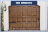 Mead Wood Garage Door