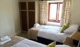 Holiday Cottage Watchet Twin Bedroom