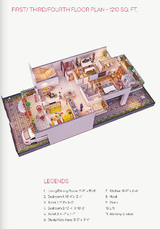 1210sqft 2bhk Apartment / Floor For Sale in Sohna, Gurgaon : zVesta