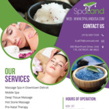SpaLand Mobile Spa-Massage Spa in Downtown Detroit