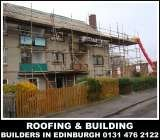 Roofing and building contractors edinburgh, 0131 476 2122