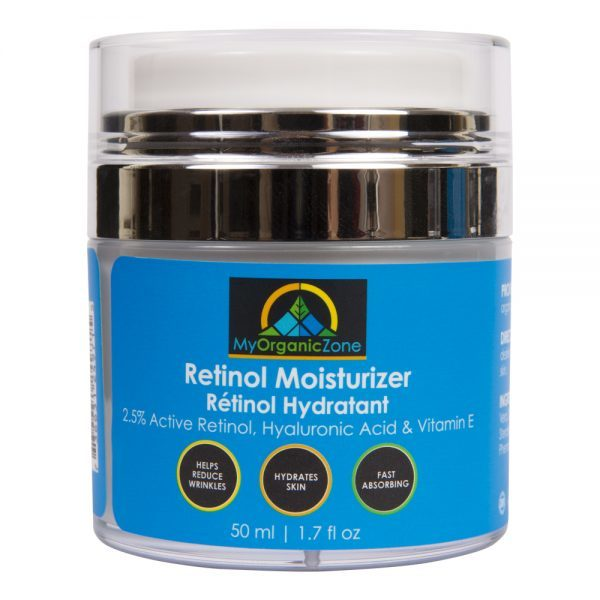 Retinol Moisturizer Cream, Best Face Moisturizer  of My Organic Zone - All Natural Skin Care and Beauty Products 6155 Tomken Rd, Unit 7 - Photo 2 of 4