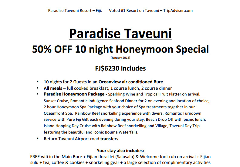 Pricelists of Paradise In Fiji 1019 9th St, - Photo 2 of 2