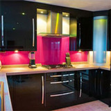 glass splashbacks for cookers  of A J Glass Ltd