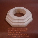 Solid Wood Molding for Pole/Roma Column Covering and Decoration