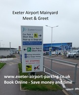 Exeter Airport Mainyard Parking, Exeter