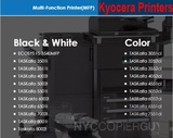 Kyocera printer list