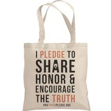 Pro Truth Pledge Tote Bag, Westerville