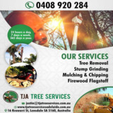 Mulching And Chipping Service Adelaide | TJA Tree Services