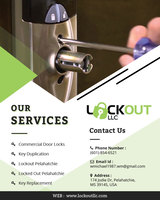LOCKOUT LLC | Commercial Door Locks PELAHATCHIE, Pelahatchie