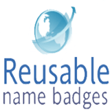 Reusable Name Badges