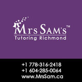 Profile Photos of Tutoring Richmond – Mrs Sam