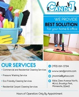 House  Cleaning Service in Minneapolis|C and J Professional Cleaning S, Brooklyn Park